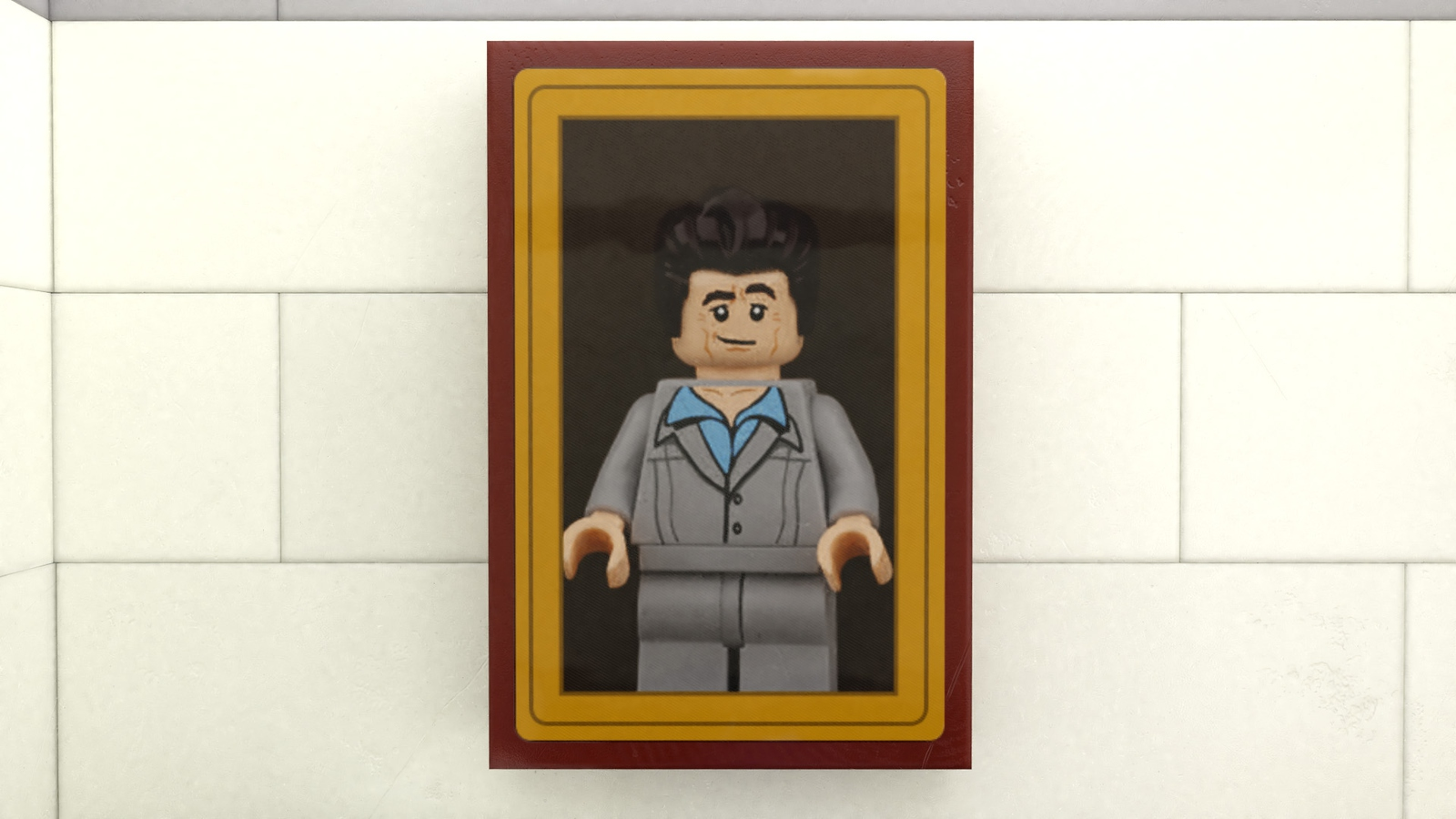 Cosmo Kramer LEGO Portrait