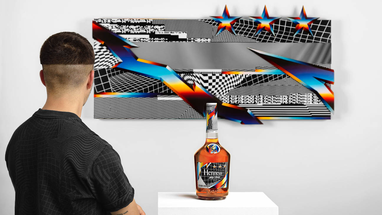 Felipe Pantone Bottle Design and Art