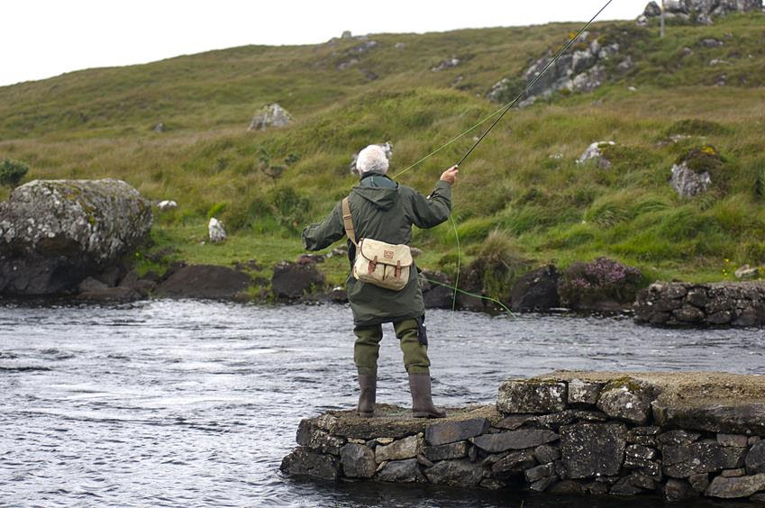 Fishing with local Ireland tour guide - Ireland road trip inspirations