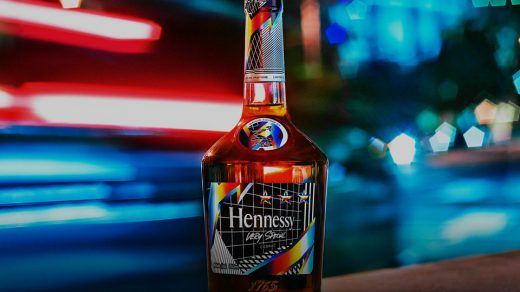 Hennessy X Felipe Pantone Limited Edition VS Cognac Bottle