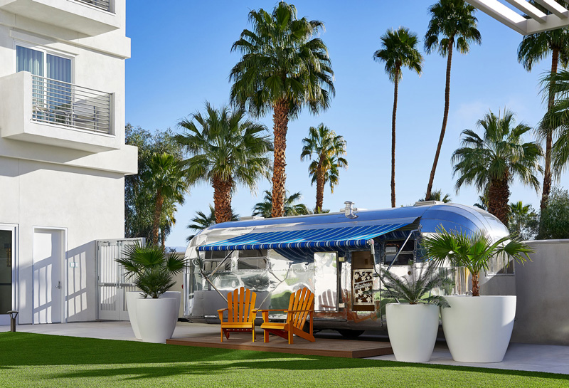 The Instagram-worthy Airstream at Hotel Paseo, Palm Desert