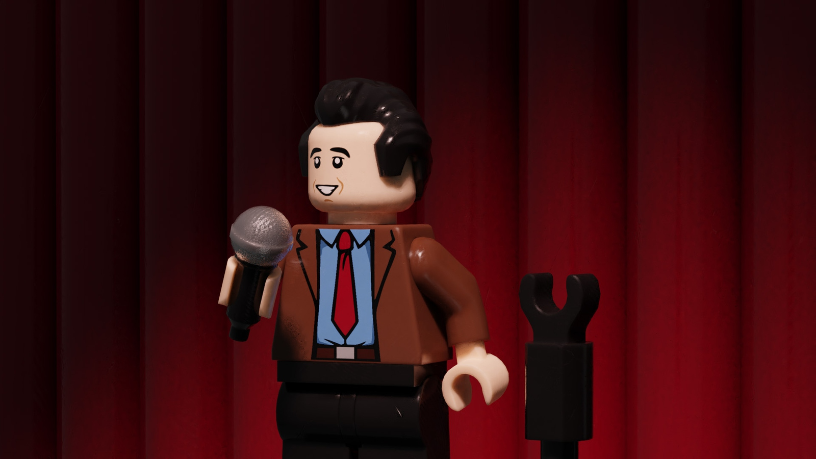 LEGO Jerry Seinfeld stand up