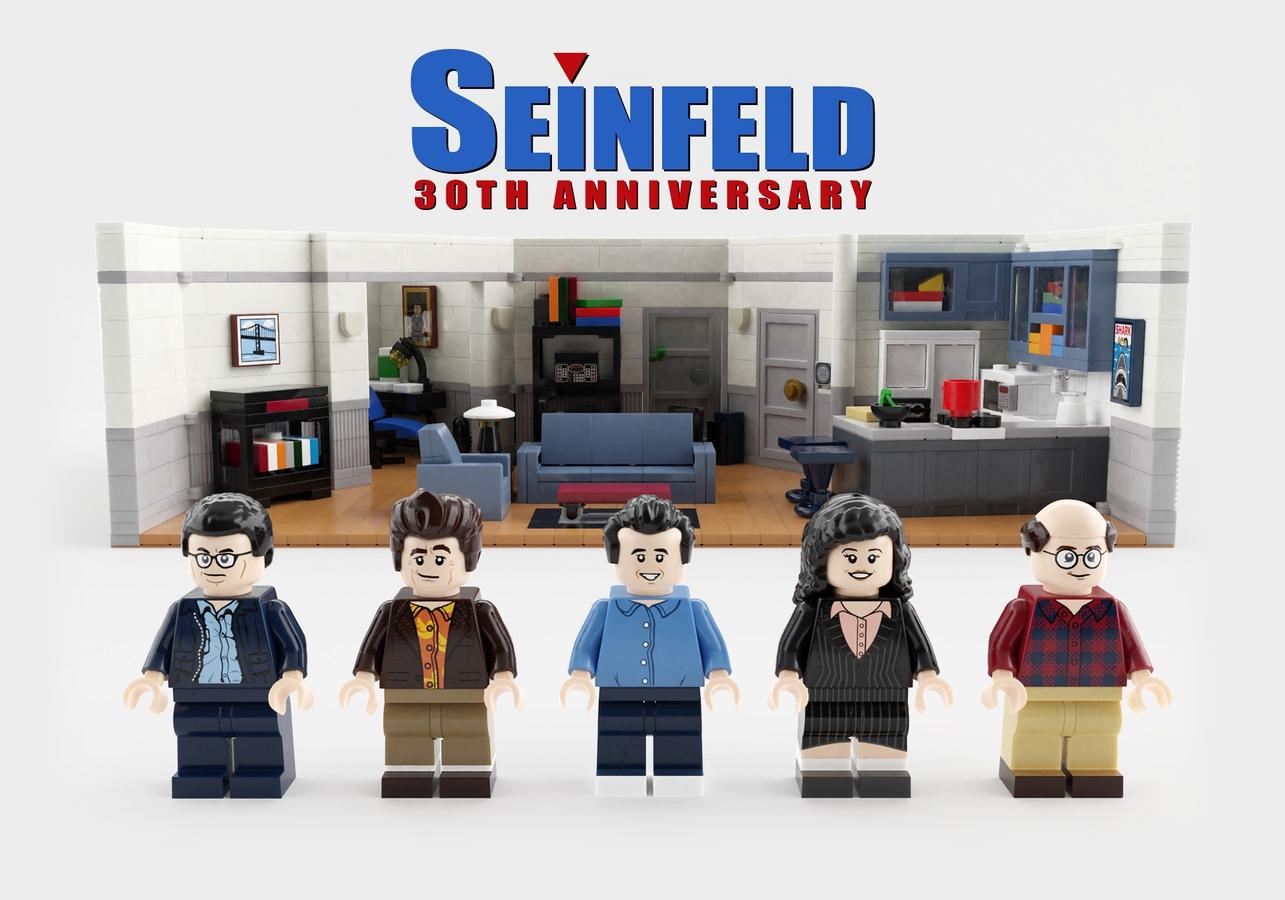 30th anniversary Seinfeld LEGO Set