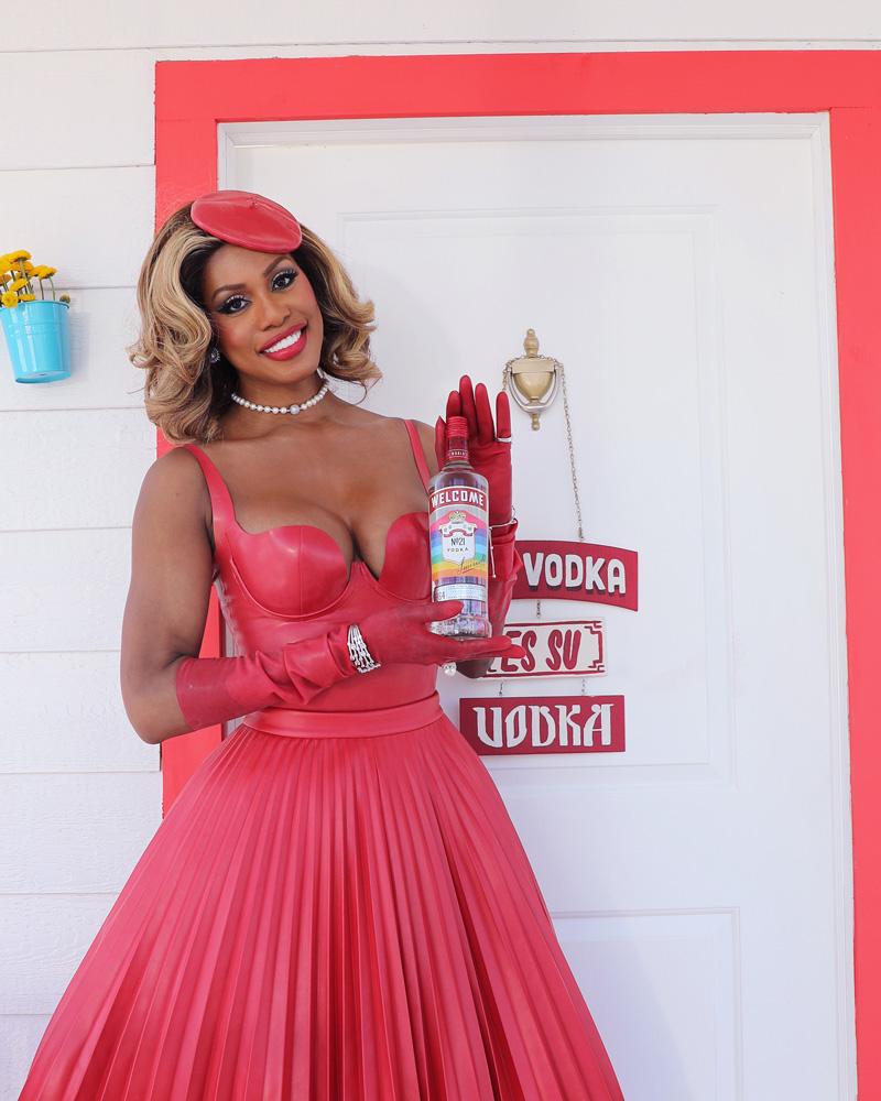 "Smirnoff brand ambassador, Laverne Cox - ""Welcome Home"" campaign"