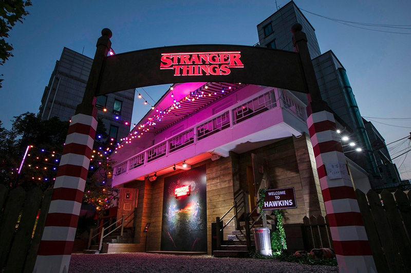 Stranger Things Pop-up in Seoul, Korea