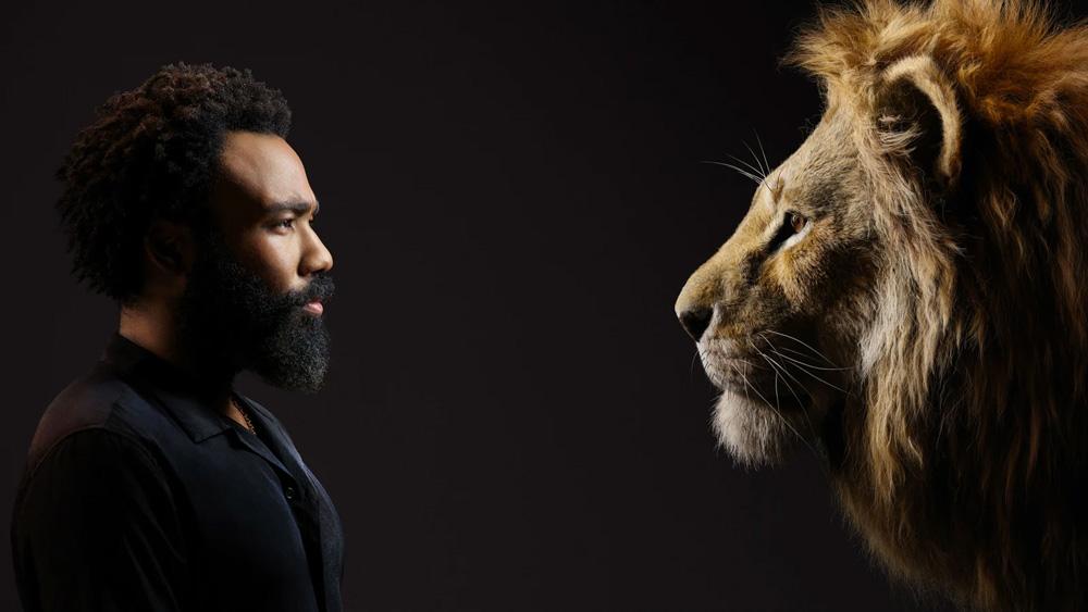Donald Glover Lion King Portrait