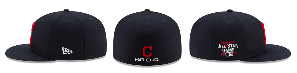 New Era x Kid Cudi Cleveland Indians All-Star 59FIFTY Cap