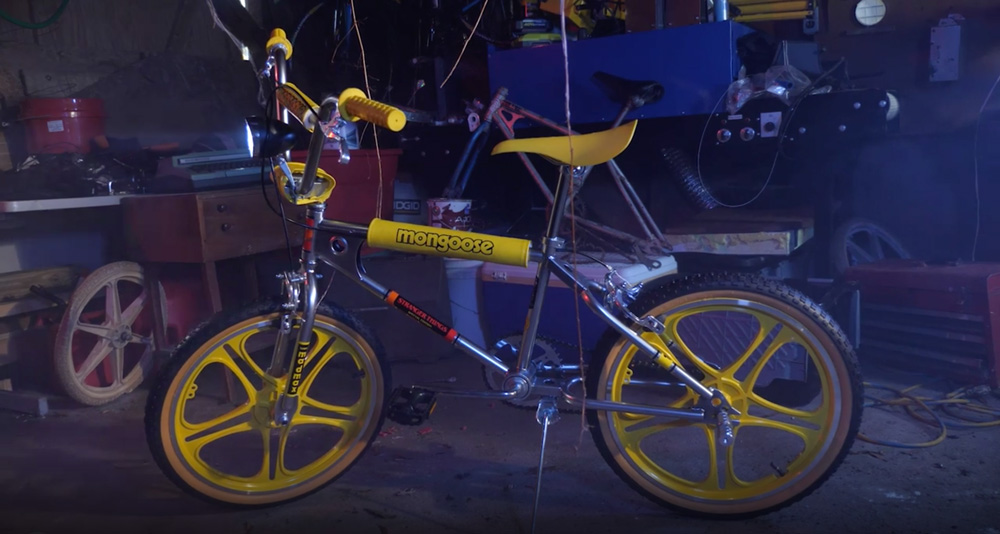 Stranger Things Max Mongoose Bike