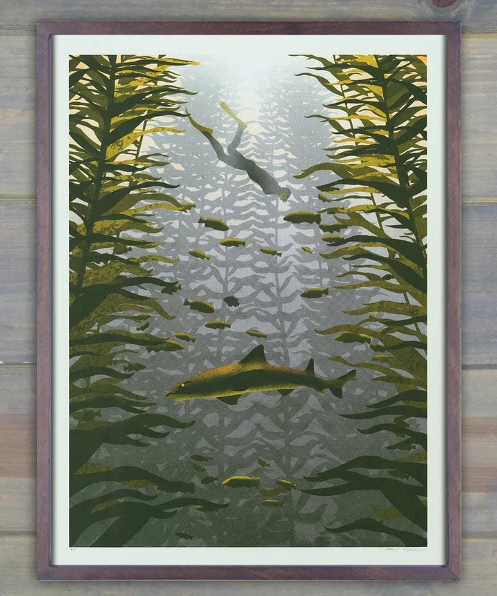 Arsenal Handicraft Kelp Forest Screen Print