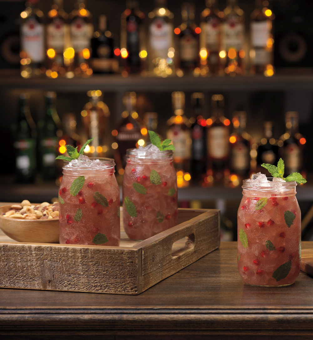 BACARDI Pomegranate Mojito - BACARDI mojito recipes
