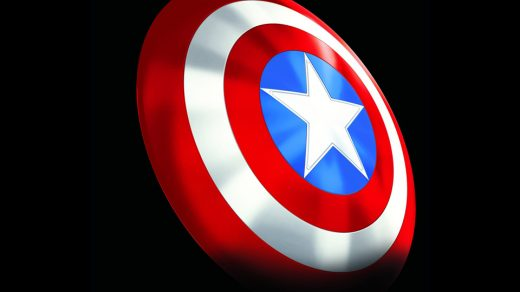 Captain America Classic Shield Collectible
