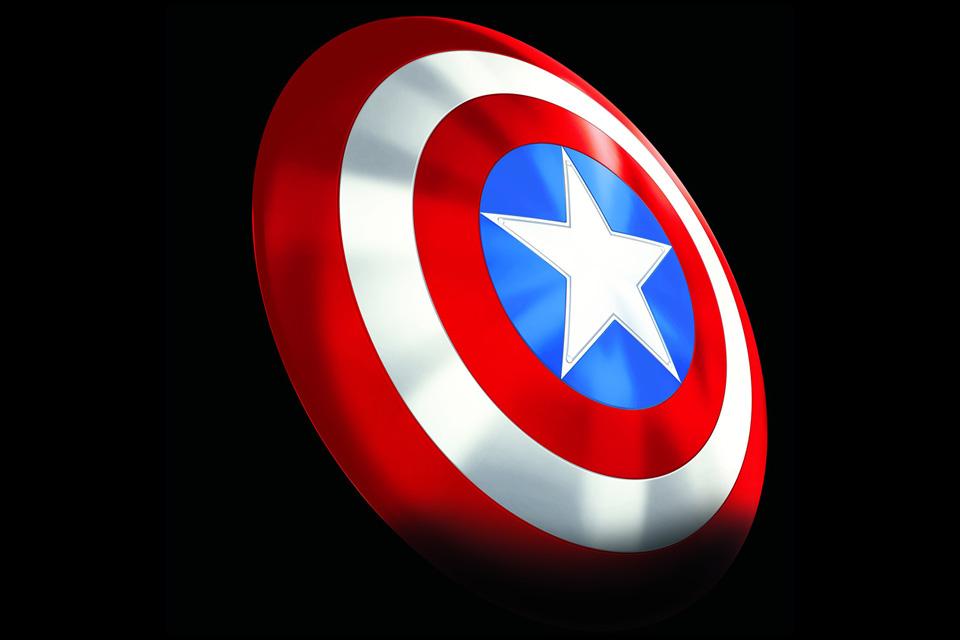 Captain America Classic Shield Collectible