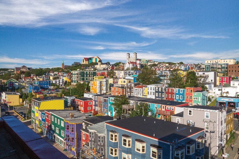 Capital of St John's – Barrett & MacKay Photo and Tourism Newfoundland and Labrador