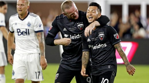 D.C. United are one of the five MLS teams to partner with Diageo's Captain Morgan brand