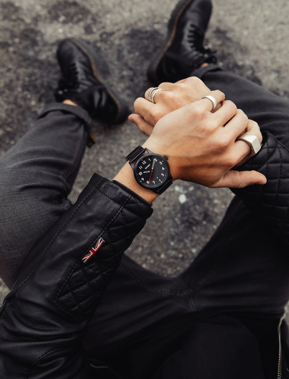 MVMT watches lifestyle imagery