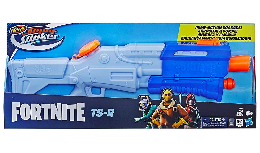 A replica of the Tac Shotgun from Fortnite