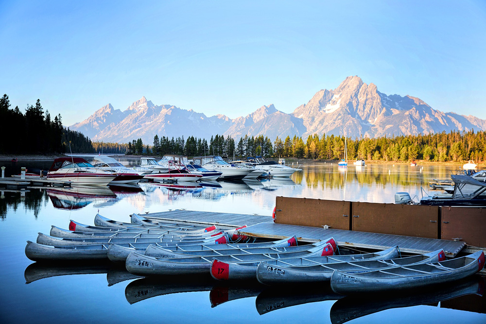 Grand Teton - Wonders of The US