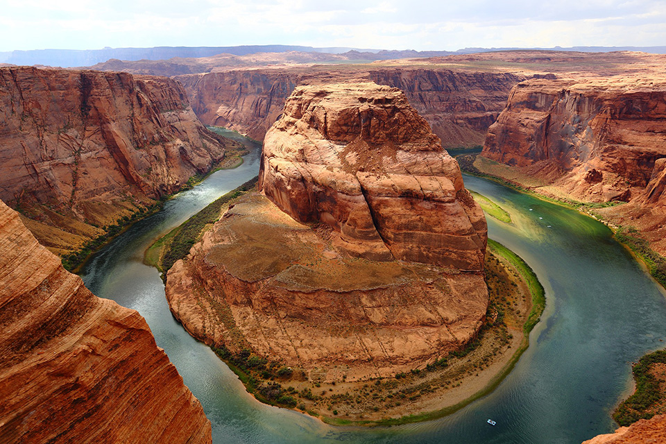 Horseshoe Bend Grand Canyon - Wonders of The US