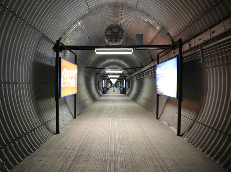 The tunnel under the KY Speedway