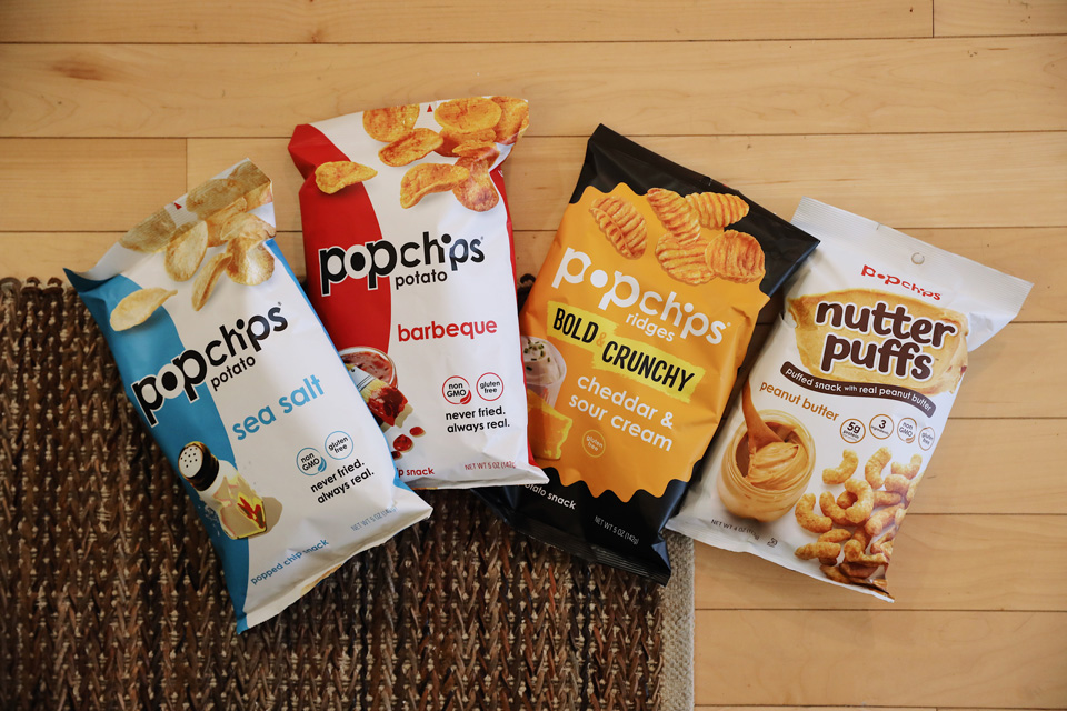 popchips savory and sweet flavors
