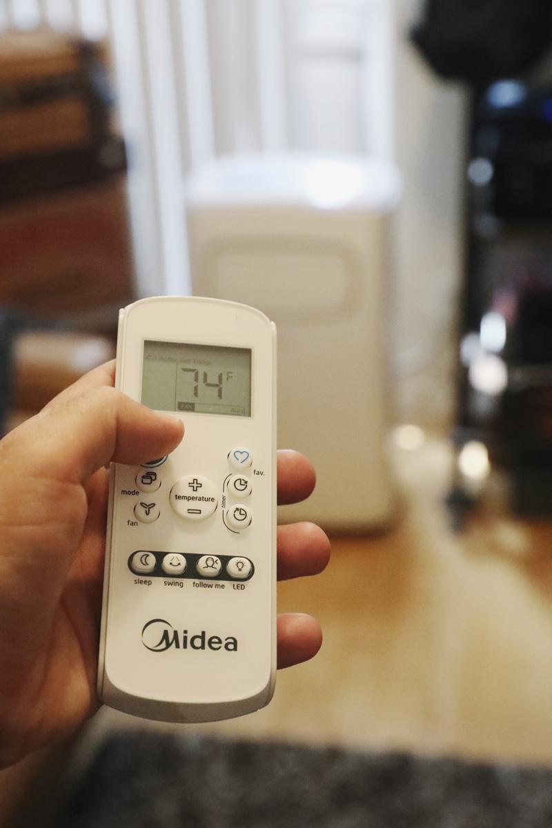 MIDEA Portable AC controller