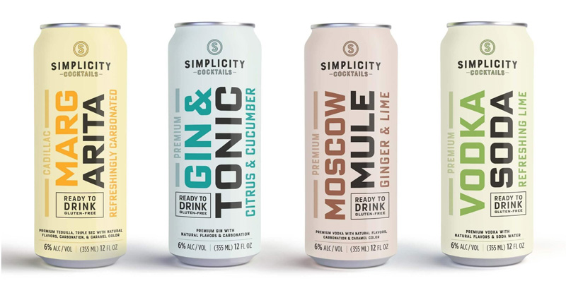 Simplicity Canned Cocktails