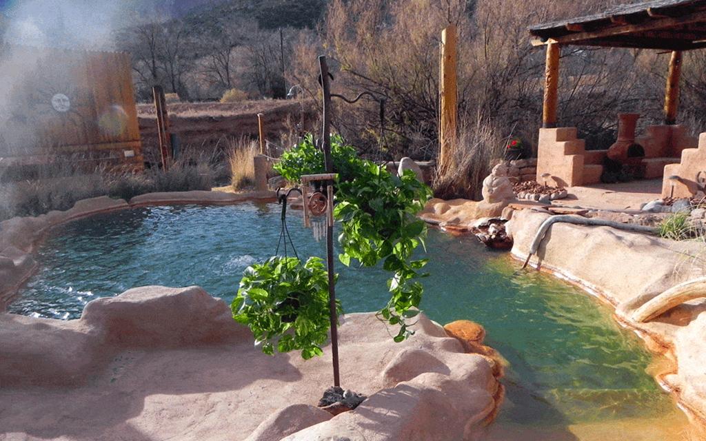 Jemez Hot Springs - New Mexico