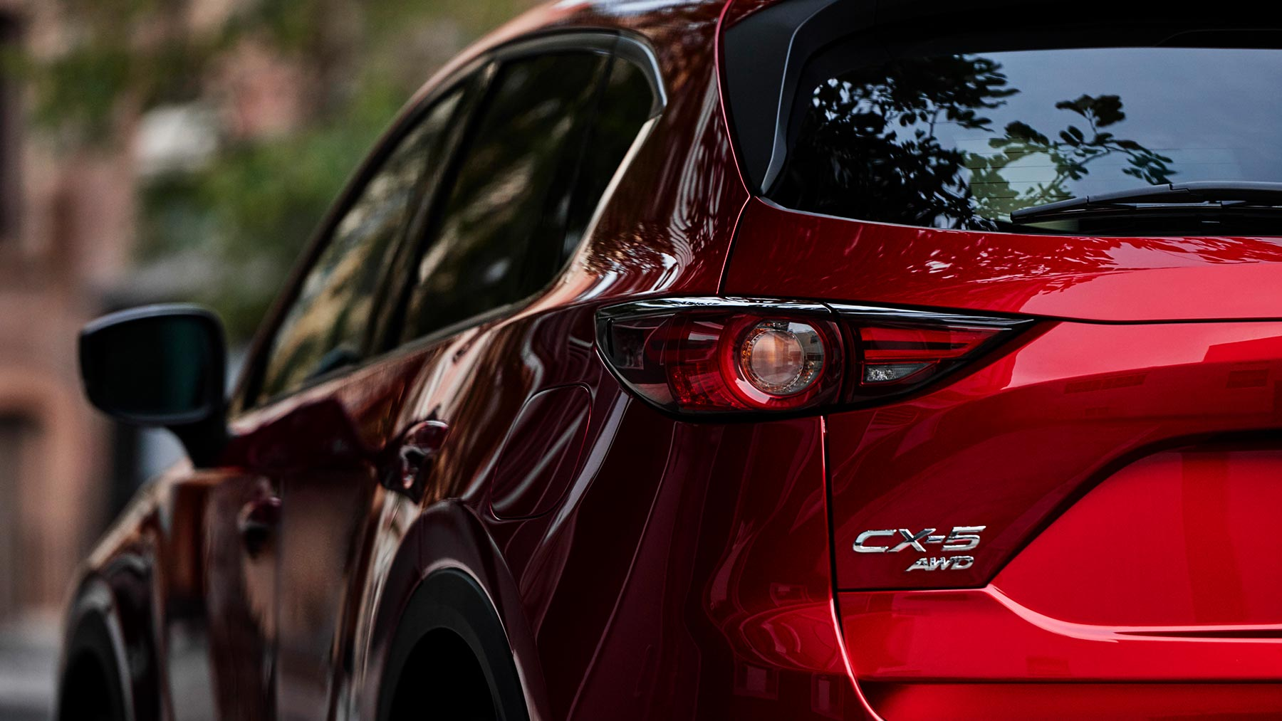 2019 Mazda CX-5 Grand Touring Quarter Rear
