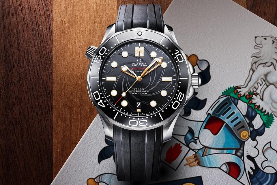 OMEGA Seamaster Diver 300M celebrates James Bond