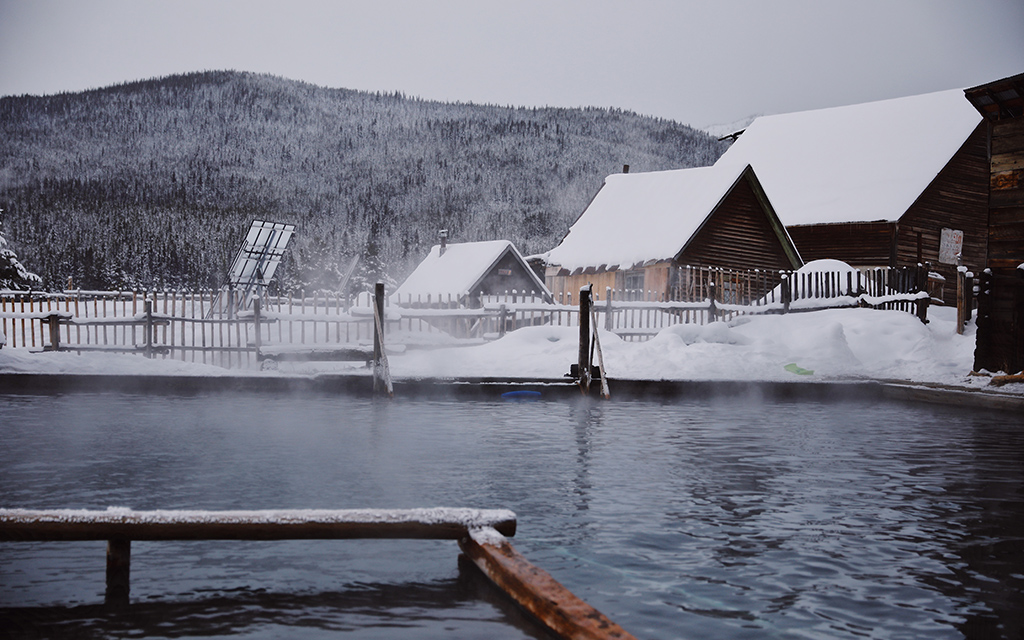 Burgdorf Hot Springs in McCall, Idaho