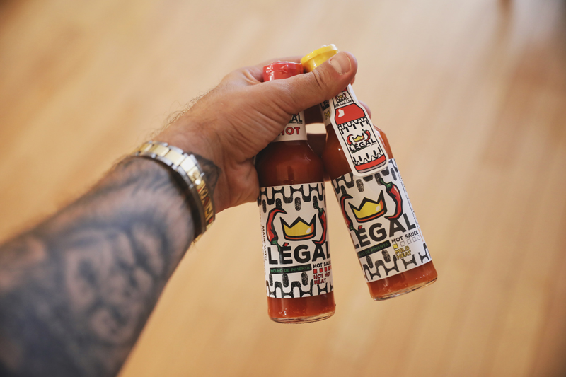 Legal Hot Sauce Flavors