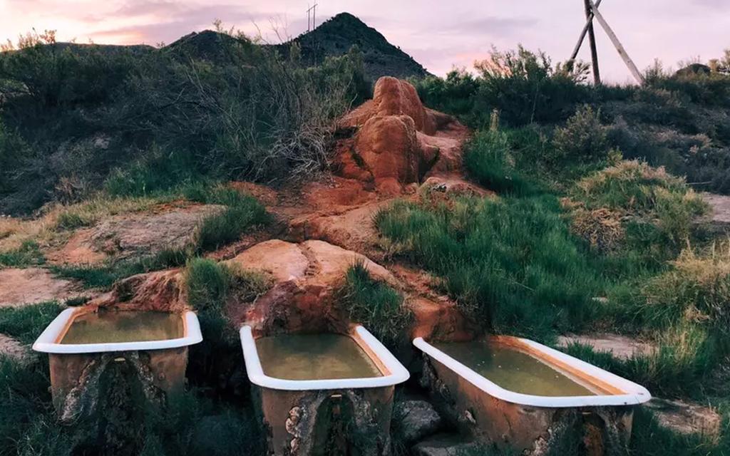 Mystic Hot Springs in Utah