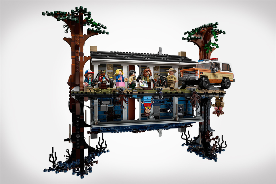 The Upside Down Lego Set