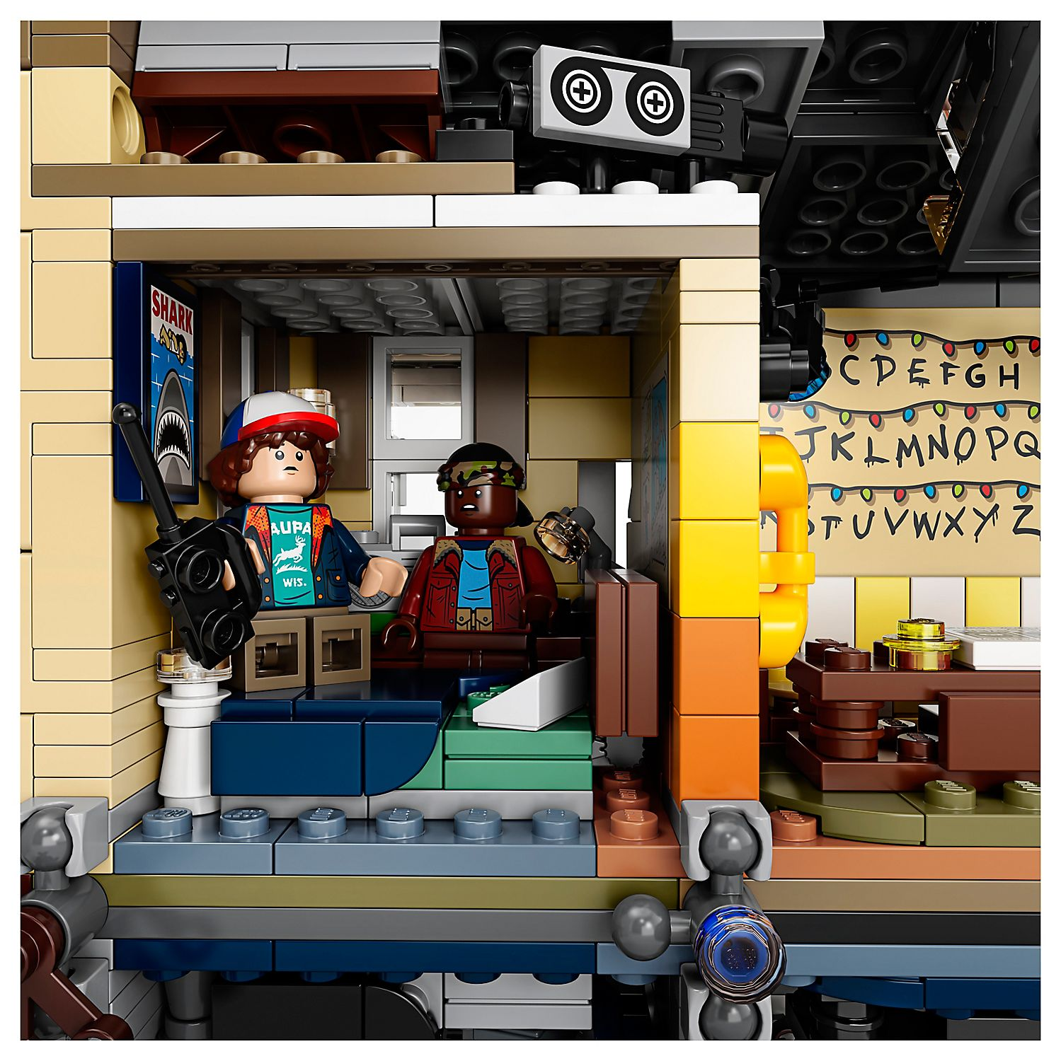 Upside Down Lego Set - Stranger Things