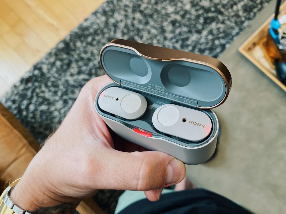 Sony True Wireless Noise Cancelling In-Ear Headphones