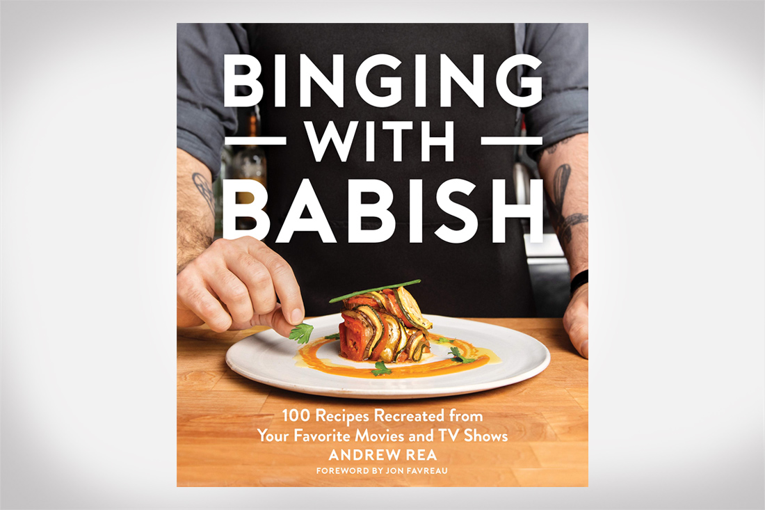 Binging with Babish recipe cookbook