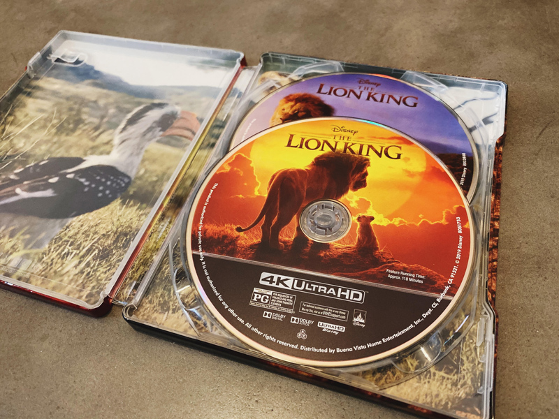 The Lion King SteelBook unboxing