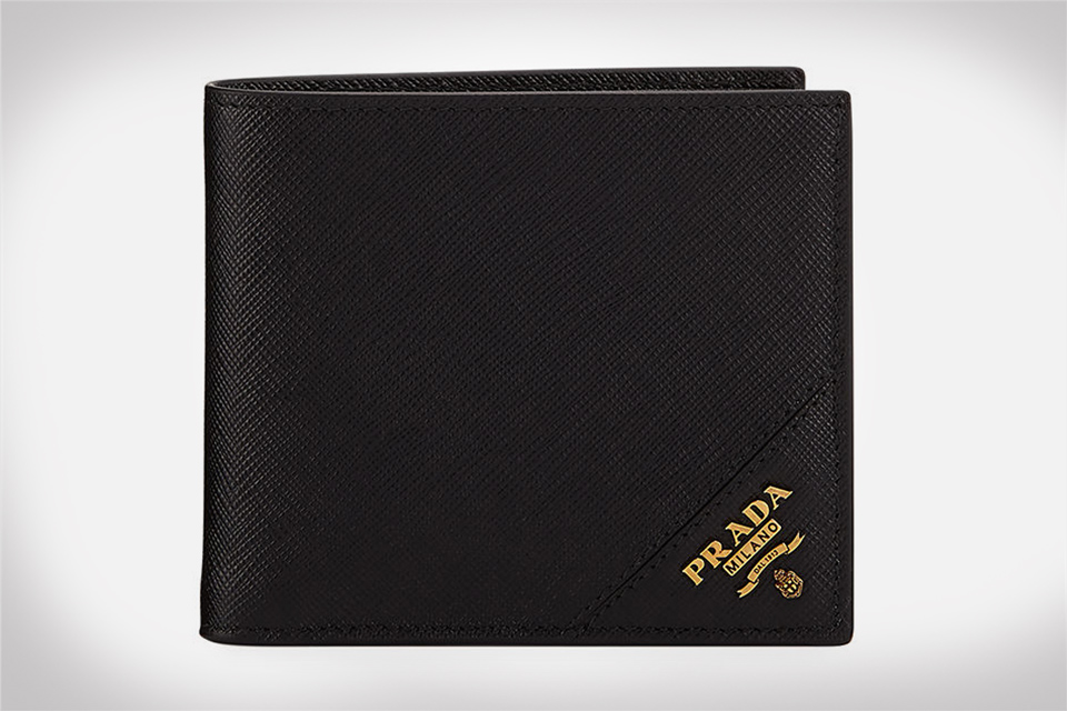 Prada Men's Saffiano Leather Wallet