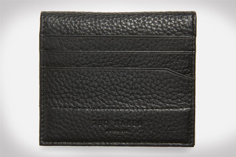 Ted Baker London Steemer Leather Bi-fold Card Holder