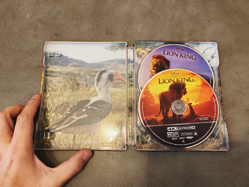 Inside The Lion King SteelBook