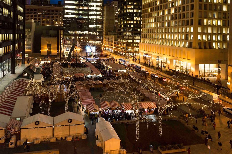 US Holiday Christmas Markets