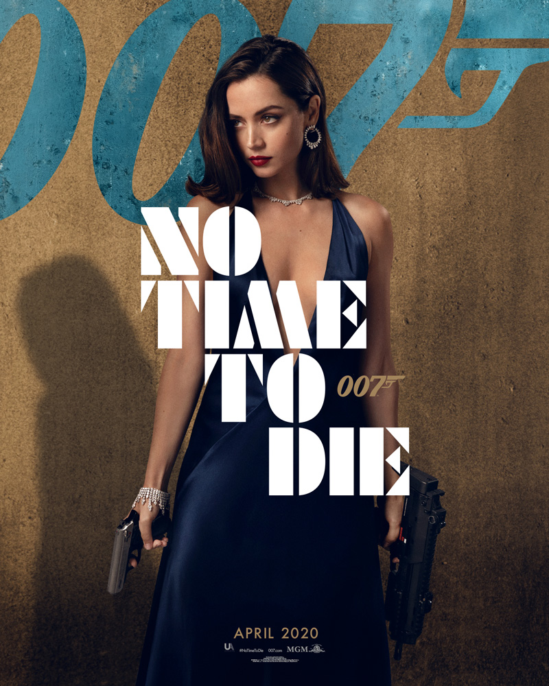 Ana Break - 'NO TIME TO DIE' Character Poster