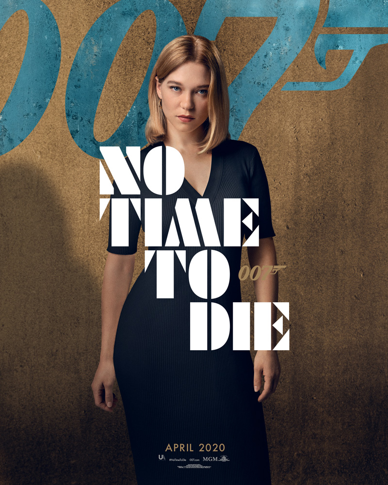 Ana de Armas - 'NO TIME TO DIE' Character Poster