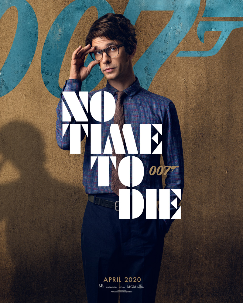 Ben Wishaw - 'NO TIME TO DIE' Character Poster