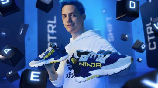 Ninja Adidas Nite Jogger 'Time In' shoe