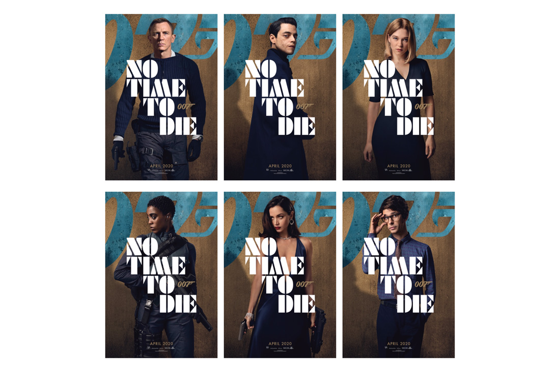 First Look at the 'No Time To Die' Character Posters