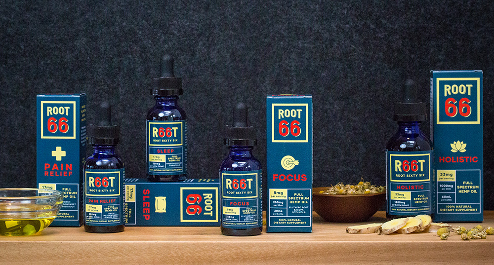 Root 66 CBD Oils