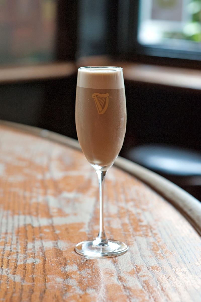 St. James Flip Guinness Cocktail