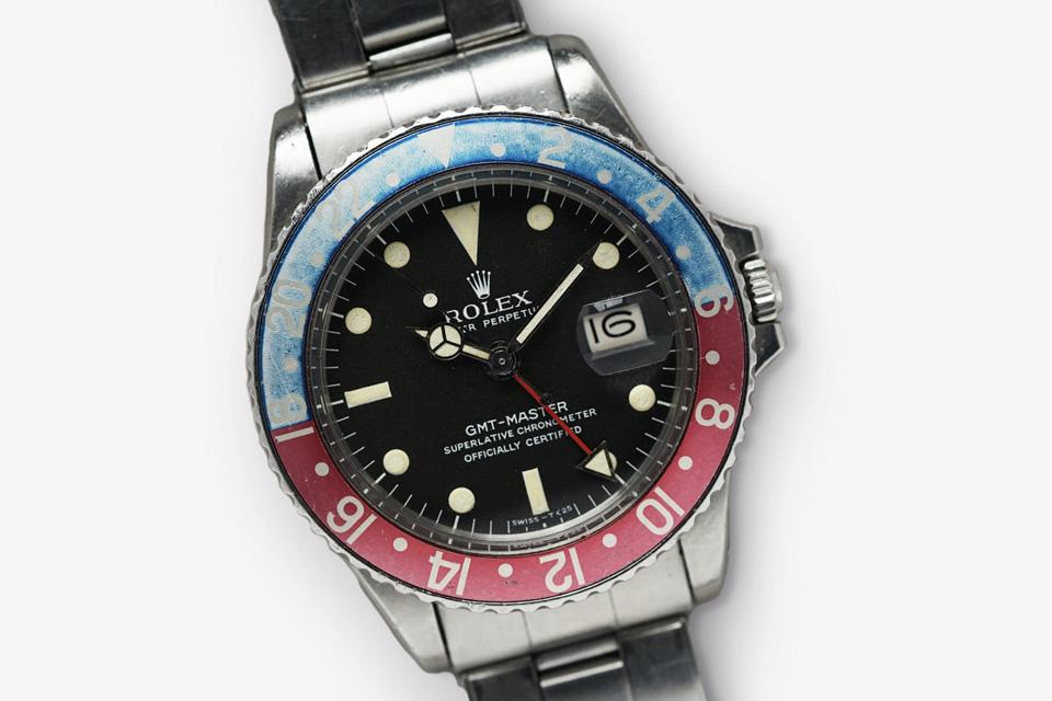 1967 Rolex GMT 1675 Mark Pepsi Dial