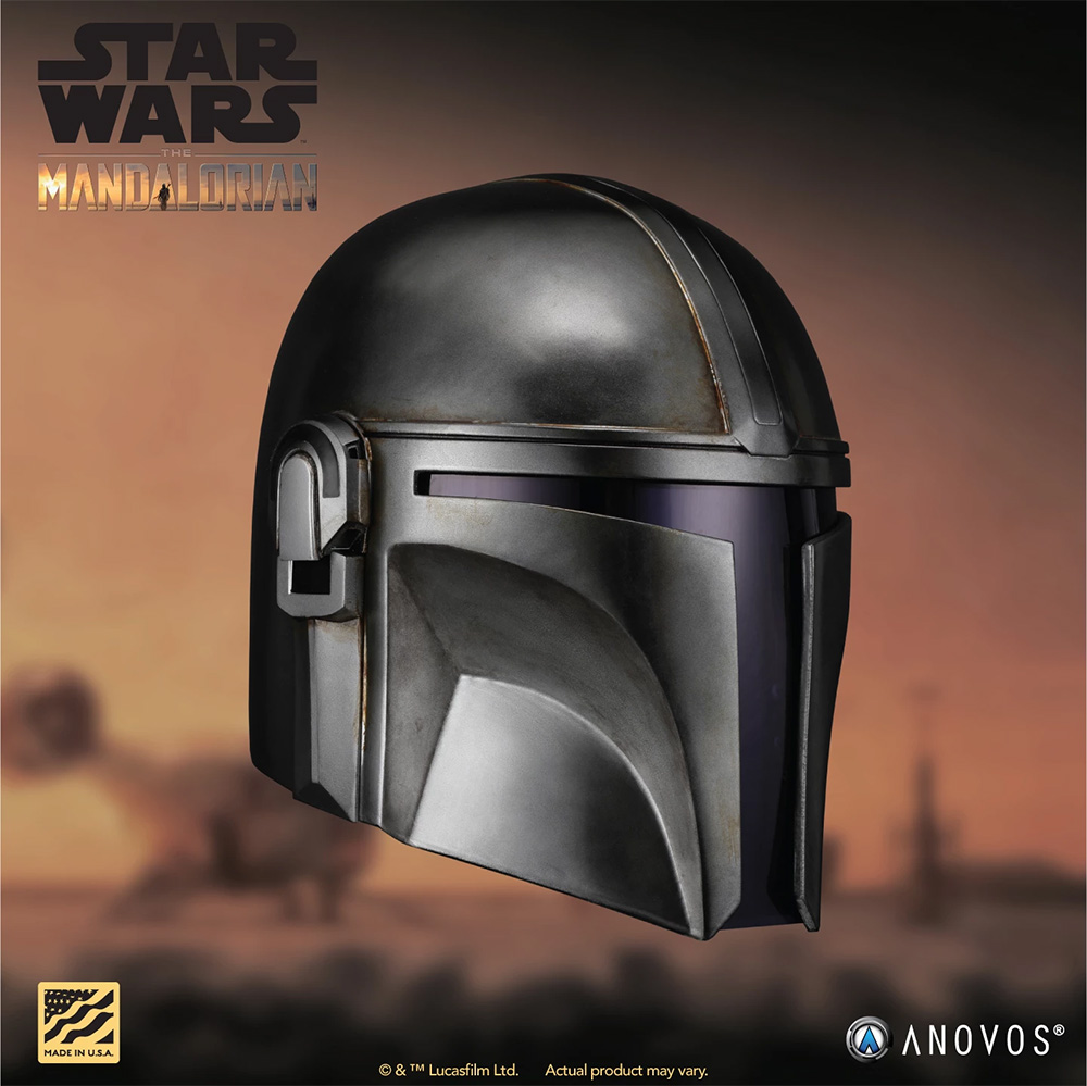 Wearable Mandalorian Helmet